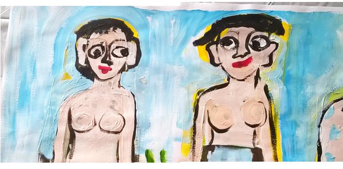 peinture Valérie Forestier art-thérapie à Lyon